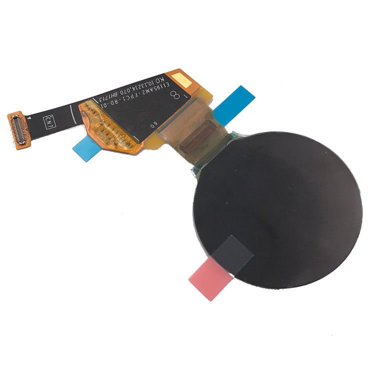 Customize Round OLED Display 1.19 Inch 390 * 390 Spi For Watch