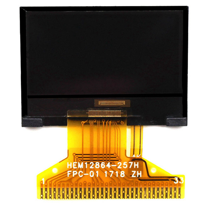 Customizable Monochrome Lcd Screen With White Backlight , Negative , Transmissiv Graphic Lcd Display
