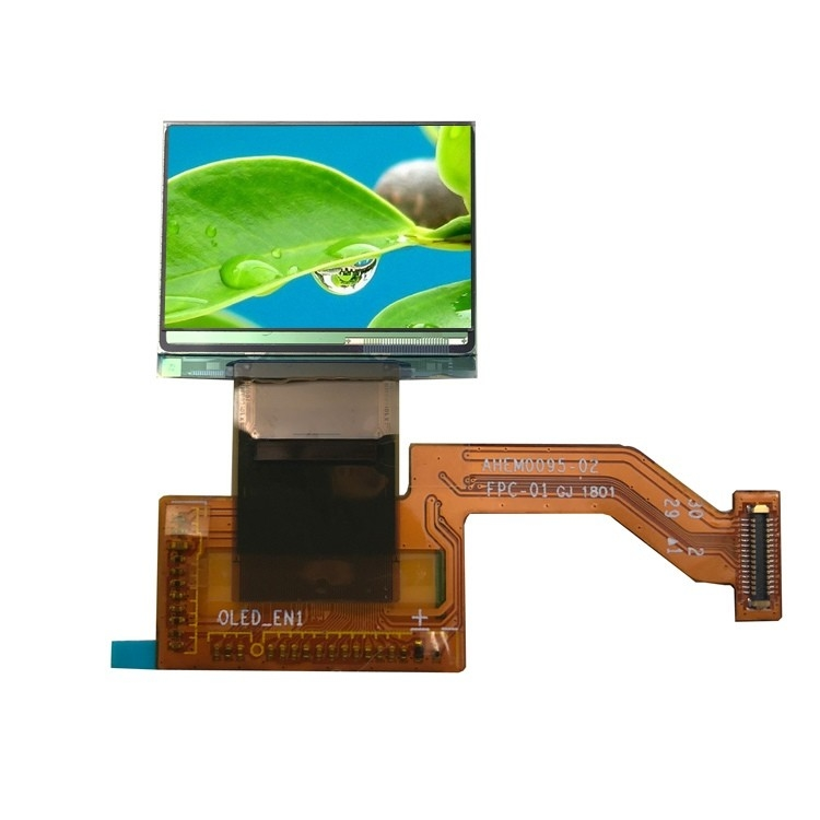 0.95inch Square Small AMOLED Display 180x 120 Resolution With SPI Interface