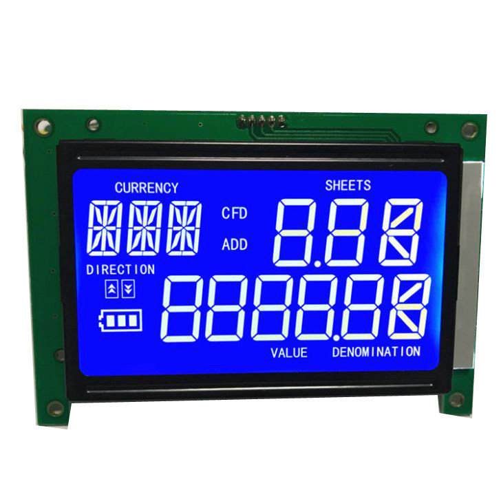 7-Segment LCD display Custom size LCD graphic matrix character segment lcd